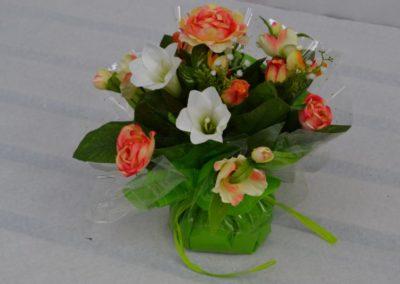 bouquet dans un vase